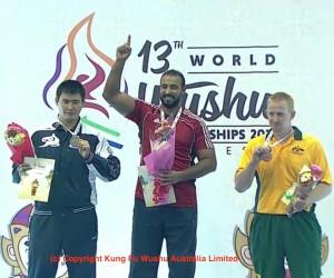 John_Bennett_Sanda medal_at_WorldWushuChampionship