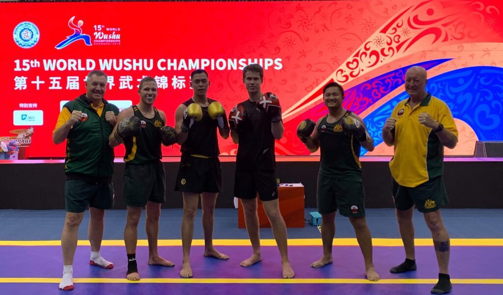 Australian Team Results from World Wushu Championships – Shanghai, China